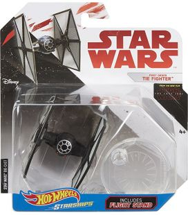 Star Wars: Episode VIII - The Last Jedi - First Order Tie Fighter - Hot Wheels Die-Cast