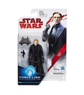 "Star Wars : Episode 8 - Le dernier Jedi - General Hux - Figurine 3.75"" Force Link"