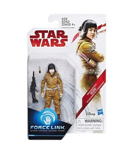 "Star Wars : Episode 8 - Le dernier Jedi - Rose - Figurine 3.75"" Force Link"