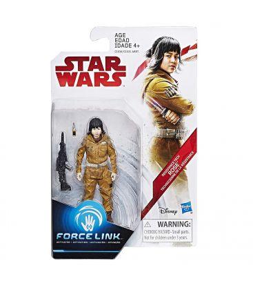 """Star Wars : Episode 8 - Le dernier Jedi - Rose - Figurine 3.75"""" Force Link"""