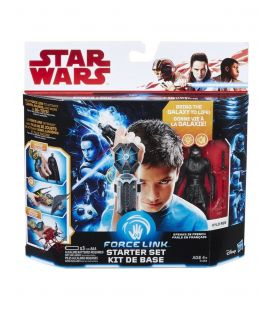 Star Wars : Episode 8 - Les derniers Jedi - Kit de base Force Link avec figurine de Kylo Ren