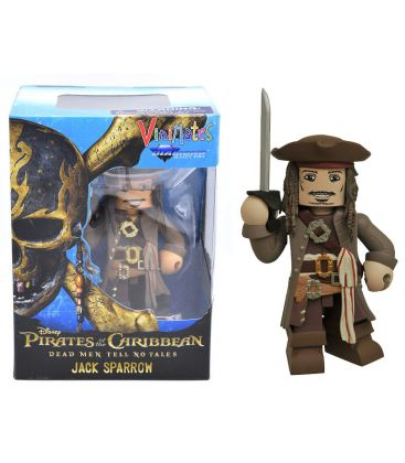 Pirates of the Caribbean: Dead Men Tell No Tales - Jack Sparrow - Vinimates Vinyl Figure