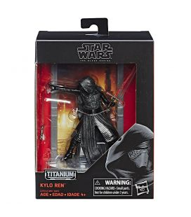 Star Wars: Episode VIII - The Last Jedi - Kylo Ren - The Black Series Titanium Figure