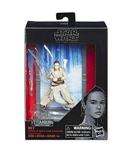 Star Wars : Episode 8 - Les derniers Jedi - Kylo Ren - Figurine Black Series Titanium