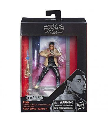 Star Wars: Episode VIII - The Last Jedi - Finn - The Black Series Titanium Figure