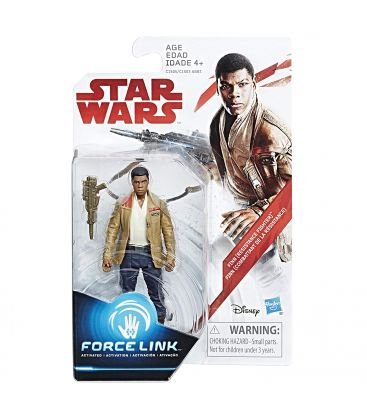 "Star Wars : Episode 8 - Les derniers Jedi - Finn - Figurine 3.75"" Force Link"
