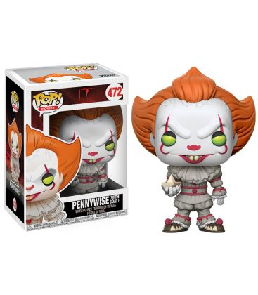 Ça - Pennywise with boat - Figurine Funko Pop! Movies