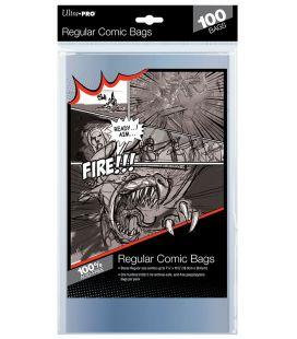 Sacs en plastique pour comic Regulier - Paquet de 100