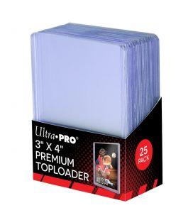 "Premium Toploader 3"" x 4"" - Pack of 25 - Ultra Pro"