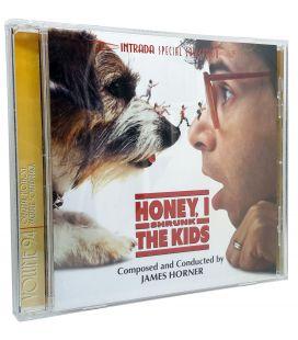 Chérie j'ai retréci les gosses - Trame sonore de James Horner - CD usagé