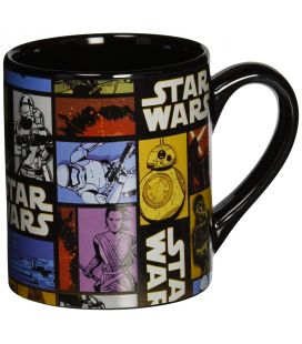 Star Wars: Episode VII - The Force Awakens - Grid Ceramic Mug 14 oz