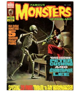 Famous Monsters of Filmland Magazine N°117 - July 1975 - Vintage US Magazine