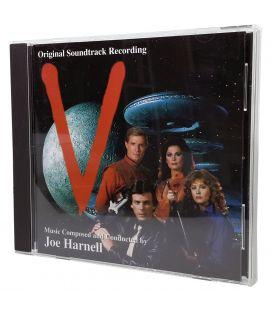 V - Soundtrack by Joe Harnell - Used Promo CD