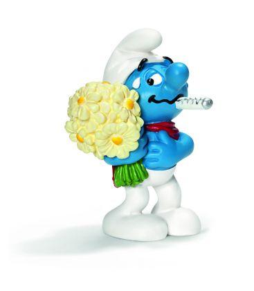Smurfs - Get Well Soon Smurf - Schleich figurine