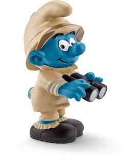 Smurfs - Nature Watcher Smurf - Schleich figurine