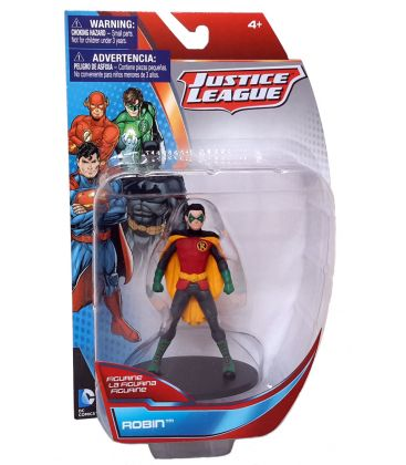 "Justice League - Robin - DC Comics Action Figure 4"" by Monogram"