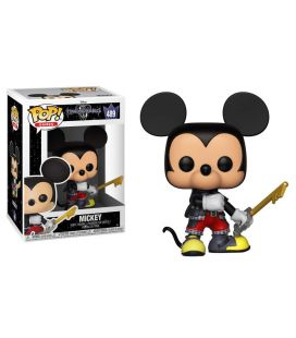 Kingdom Hearts 3 - Mickey - Pop! Vinyl Figure 489