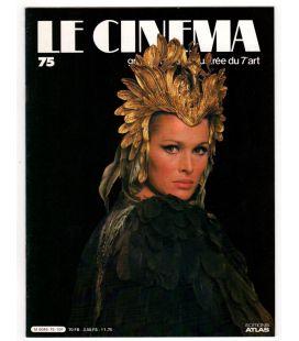 Le cinéma, grande histoire illustrée du 7e art N°75 - Juin 1983 - Ancien magazine français avec Ursula Andress