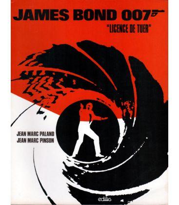 James Bond 007 - Licence de tuer - Ancien livre usagée aux éditions Edilig