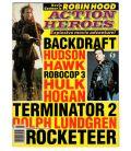 Action Heroes N°5 - 1991 - Magazine américain avec Arnold Schwarzenegger et Kevin Costner