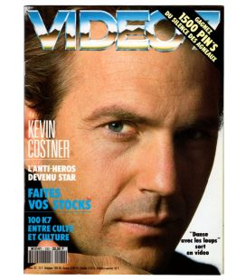 Video 7 Magazine N°120 - March 1992 with Kevin Costner