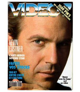 Vidéo 7 N°120 - Mars 1992 - Magazine français avec Kevin Costner