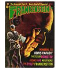 Castle of Frankenstein Magazine N°24 - Vintage 1974 issue with Boris Karloff