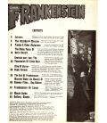 Castle of Frankenstein N°24 - 1974 - Ancien magazine américain avec Boris Karloff
