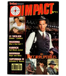 Impact Magazine N°11 - October 1987 issue with Kevin Costner