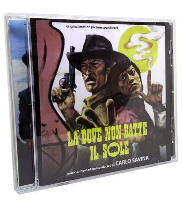 La Brute, le colt et le karaté / Un Animale Chiamato Uomo - Trames sonore de Carlo Savina - CD usagé