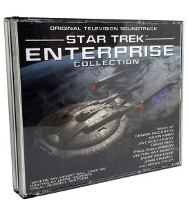 Star Trek Enterprise Collection - Volume 1 - Trame sonore - CD usagé