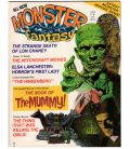 Monsters Fantasy Magazine N°2 - June 1975 - Vintage US Magazine with The Mummy