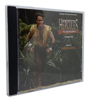 Hercules, the Legendary Journeys - Vol. 4 - Trame sonore de Joseph LoDuca - CD usagé