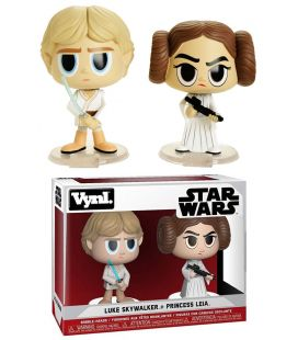 Star Wars - Luke et Leia - Ensemble de 2 figurines Funko Vynl