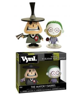 The Nightmare before Christmas - The Mayor & Barrel - Vynl boxset figures