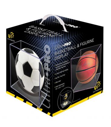 Basketball and Figurines UV Protection Display Case - Ultra-Pro (Ball not included)