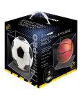 Boite en plastique carré anti UV pour ballon de basket - Ultra-Pro