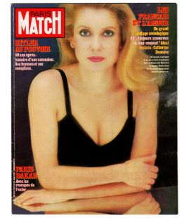 Paris Match Magazine N°1757 - Vintage january 28, 1983 issue with Catherine Deneuve