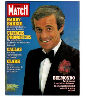 Paris Match Magazine N°1762 - Vintage march 4, 1983 issue with Jean-Paul Belmondo