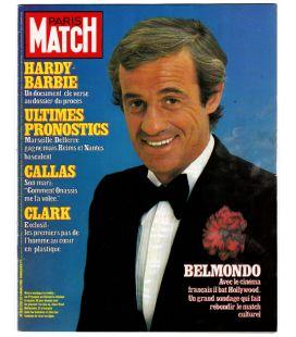 Paris Match N°1762 - 4 mars 1983 - Ancien magazine français avec Jean-Paul Belmondo