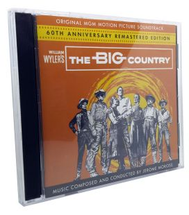 The Big Country - Soundtrack by Jerome Moross - Limited Edition on 2 CD used