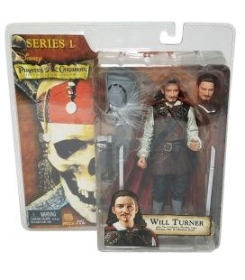 Pirates of the Caribbean: The Curse of the Black Pearl - Will Turner - Action Figure 7""