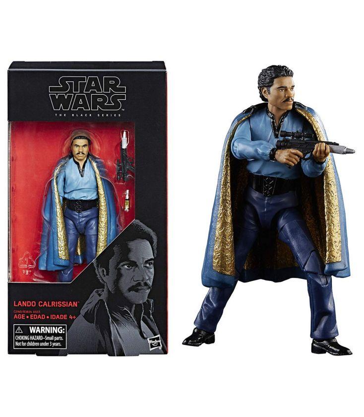 Star Wars Episode Iv A New Hope Lando Calrissian 6inch Figure The Black Series Cinema Passion