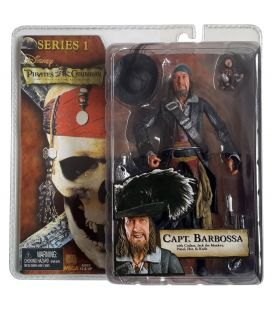 Pirates of the Caribbean: The Curse of the Black Pearl - Capt Barbossa - Action Figure 7""