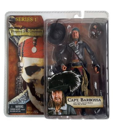 """Pirates of the Caribbean: The Curse of the Black Pearl - Capt Barbossa - Action Figure 7"""""""