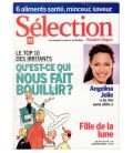Lot of 2 Magazines with - Angelina Jolie - Selection Reader's Digest & Cineplex - 2005 and 2010