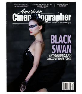 American Cinematographer - December 2010 issue with Natalie Portman