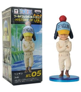 One Piece - Penguin, History of Law - Figurine manga 3""