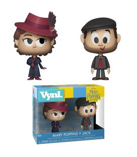 Mary Poppins Returns - Mary Poppins & Jack - Set of 2 Funko Vynl figurine