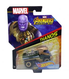 Avengers Infinity War - Thanos - Hot Wheels Character Cars Diecast